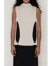 Baserange Cotton Rib Cirri Pullover - Multicolour
