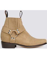 Chamula - Nubuck Botin Cochi Boot - Lyst