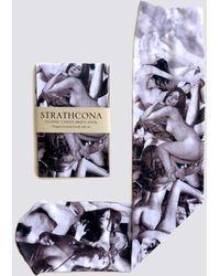 Strathcona - Vintage Porn Sock - Lyst