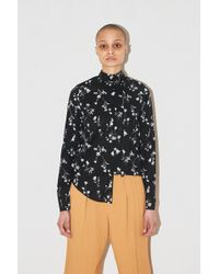 Assembly - Non Collar Blouse - Floral - Lyst