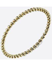 Gabriela Artigas Yellow Gold Rope Ring - Metallic