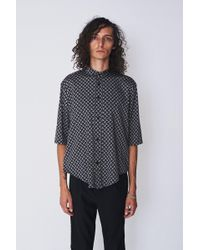 Assembly - Paisley Non Collar Shirt - Lyst
