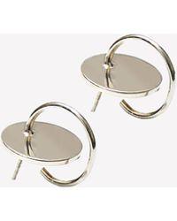 Sorelle - Silver Gaia Earrings - Lyst