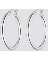 Nina Kastens Jewelry - Large Silver Hoops - Lyst