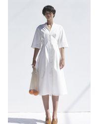 Shaina Mote - Cotton Poet Dress - Lyst