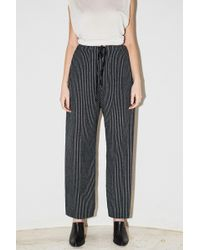 Assembly - Bamboo Stripe Pj Pant - Lyst