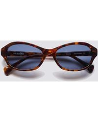 Sun Buddies Acetate Wesley - Liquid Amber - Blue