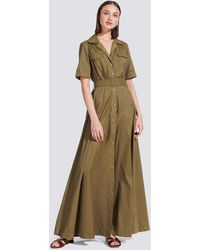 STAUD Caper Millie Dress - Green
