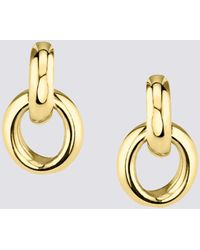 Gabriela Artigas Gold Link Earrings - Metallic