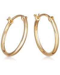 Astley Clarke - Medium Stilla Gold Hoop Earrings - Lyst