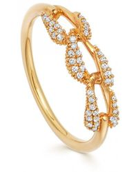 Astley Clarke - Mini Vela Ring - Lyst