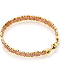 Astley Clarke - Peach Blush Nugget Biography Bracelet - Lyst