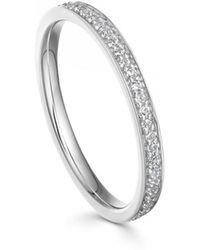 Astley Clarke White Sapphire Biography Eternity Ring