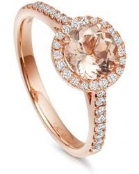 Astley Clarke - Morganite Tearoom Ring - Lyst
