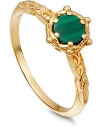 Astley Clarke - Malachite Floris Ring - Lyst