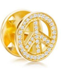 Astley Clarke - Peace Biography Pin - Lyst