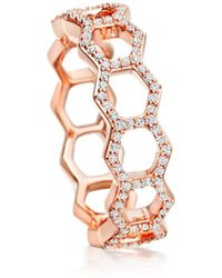 Astley Clarke - Honeycomb Ring - Lyst