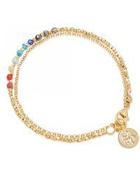 Astley Clarke Rainbow Tree Of Life Biography Bracelet - Multicolour