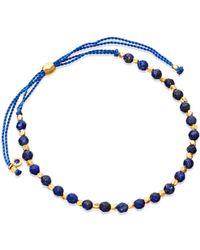 Astley Clarke - Lapis Skinny Biography Bracelet - Lyst
