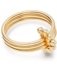 Astley Clarke - Triple Stilla Arc Ring - Lyst
