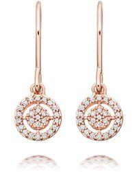 Astley Clarke Mini Icon Aura Drop Earrings - Multicolour