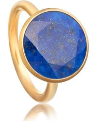 Astley Clarke Round Stilla Ring - Multicolour