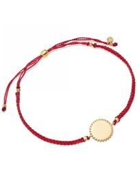 Astley Clarke Beaded Engravable Protection Skinny Bracelet - Multicolour