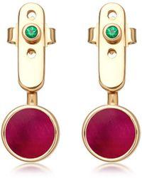 Astley Clarke - Ruby Mars Ear Jackets - Lyst