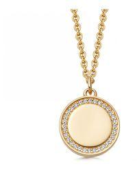 Astley Clarke Biography Cosmos Locket Necklace - Metallic