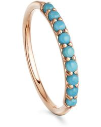 Astley Clarke Turquoise Hedda Ring - Blue
