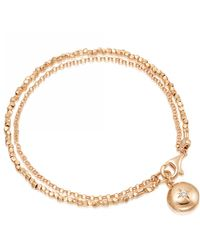 Astley Clarke Biography Locket Bracelet - Multicolour