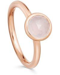 Astley Clarke - Moonstone Round Stilla Ring - Lyst