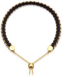 Astley Clarke - Midnight Woven Kula Biography Bracelet - Lyst