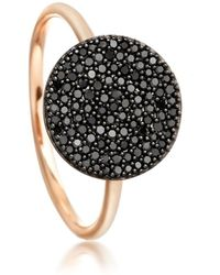 Astley Clarke - Icon Black Diamond Ring - Lyst