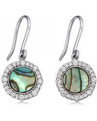 Astley Clarke - Luna Abalone Drop Earrings - Lyst
