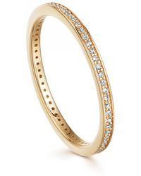 Astley Clarke - Halo Diamond Eternity Ring - Lyst