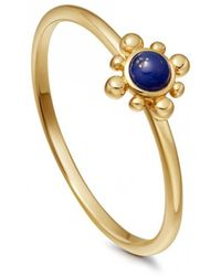 Astley Clarke - Lapis Mini Floris Ring - Lyst