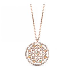 Astley Clarke - Large Icon Nova Opal Pendant Necklace - Lyst