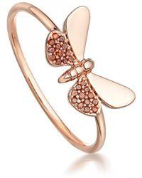 Astley Clarke - Medie Cinnabar Papillon Red Diamond Ring - Lyst