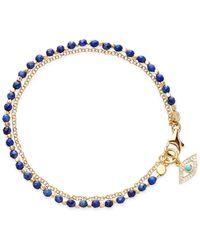 Astley Clarke Lapis Evil Eye Biography Bracelet - Blue