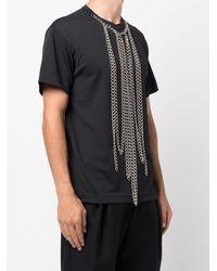 Comme des Garçons Chain Necklace T-shirt - Black