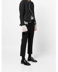 Renli Su Tulle Layerd Detail Jacket - Black