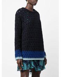 Koche Weaving Sweater - Black