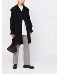 Yohji Yamamoto Trench Coat - Black
