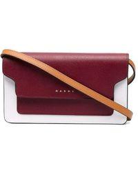 Marni Ew Mobile Phone Case Bag - Red