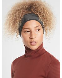 Athleta Flurry Reflective Headband - Black