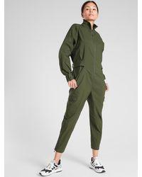 Athleta Lenox Jumpsuit - Green