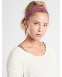 Athleta Knotted Headband In Powervitatm - Multicolor