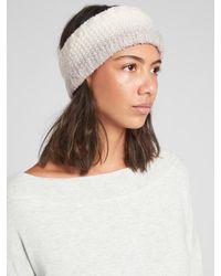 Athleta Cozy Stripe Headband - Gray