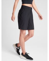 "Athleta Tribeca 9"" Bermuda Short - Black"